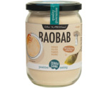 Raw baobab poeder in glas bio