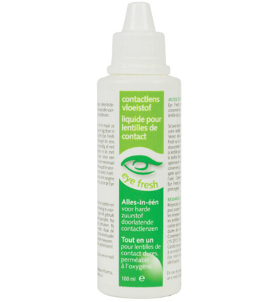 Eyefresh Lenzenvloeistof Alles In 1 Harde Lenzen 100ml