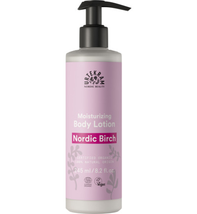 Body lotion dry skin Nordic birch
