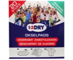 Okselpads medium wit