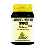 L Carnitine pu erh grapefruit