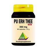 Pu erh thee 350 mg puur