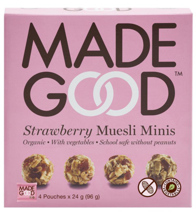 Granola minis strawberry 24 gram