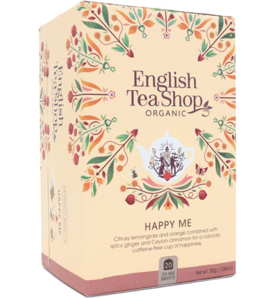 English Teashop Happy Me  Bio 20st