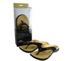 Slippers black size 8