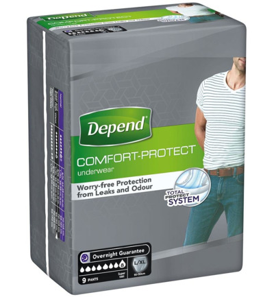 Pants men comfort protect super L/XL