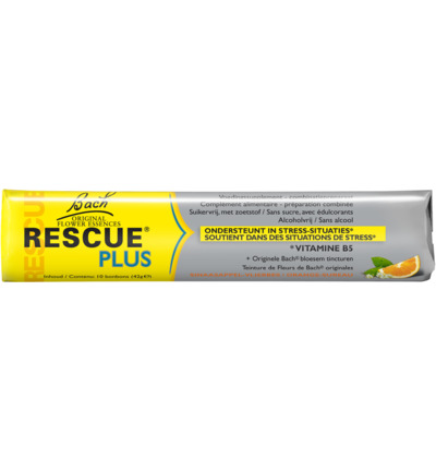 Rescue remedy plus bonbon