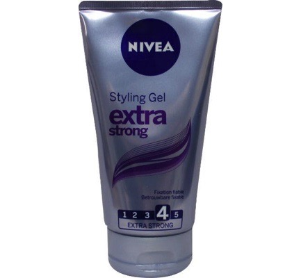 Hair care styling gel extra sterk