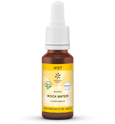 Bach bloesemremedies rock water bio