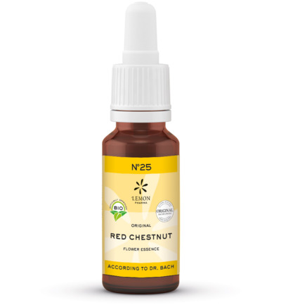 Bach bloesemremedies red chestnut bio