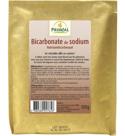 Bicarbonate sodium