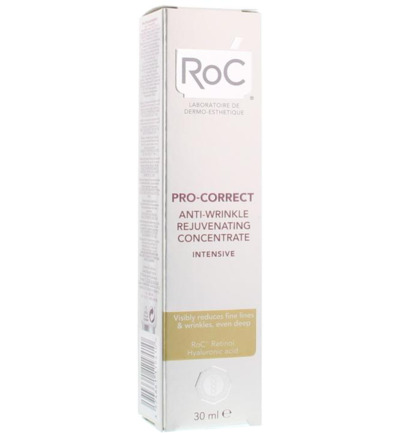 Pro correct intense anti wrinkle concentrate