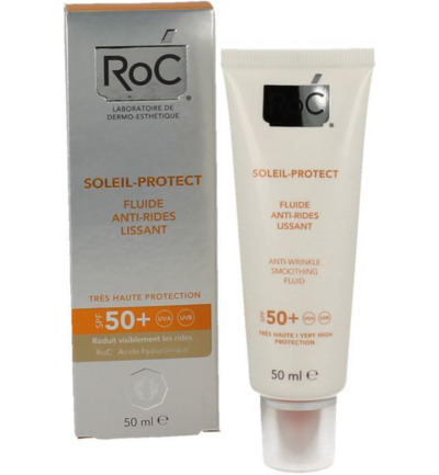 Soleil protect anti ageing face fluid SPF50+