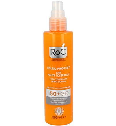 Soleil prot high tolerance lotion spray SPF50+