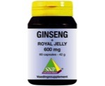 Ginseng + royal jelly 600 mg