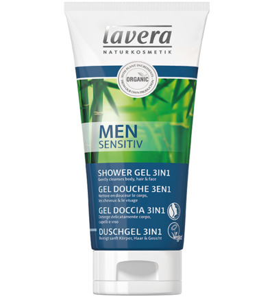 Men Sensitiv mannen douchegel/shower gel 3 in 1