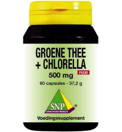 Snp Groene Thee Chlore 500mg Puur 60cap