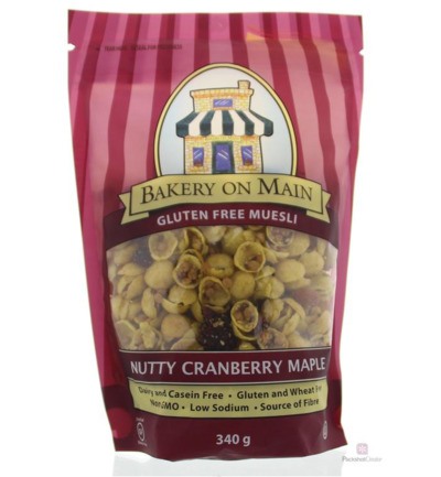 Muesli nutty cranberry