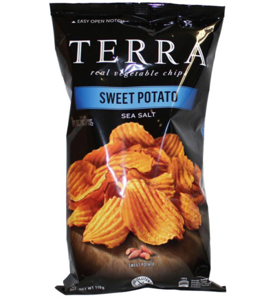 Chips sweet potato