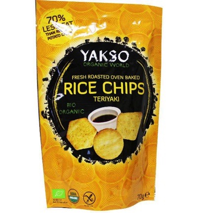 Rice chips teriyaki bio