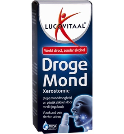 Droge mond spray