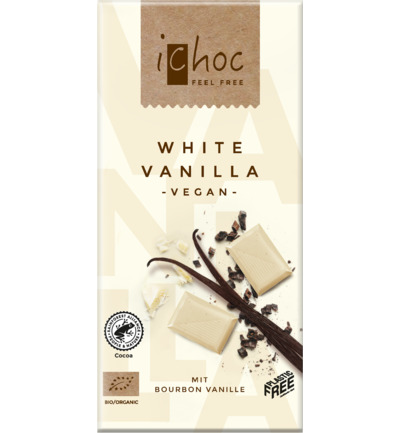 White vanilla vegan