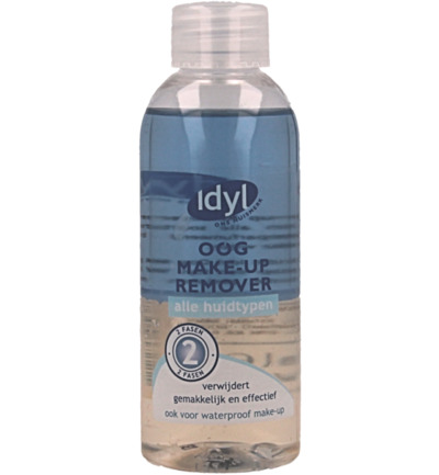 Oog make up remover