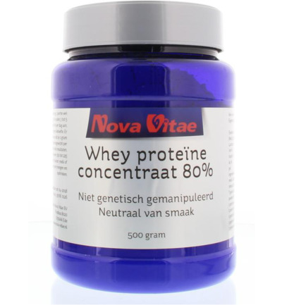 Whey proteine concentraat 80%