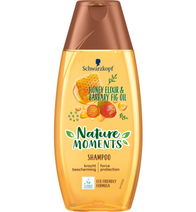 Nature Moments Shampoo Honey Elixir&Barbary Fig