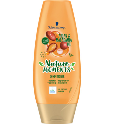 Nature Moments Moroccan Argan Oil & Macadamia Oil