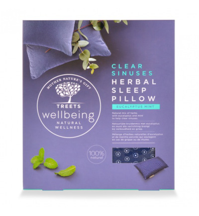 Herbal sleep pillow clear sinus