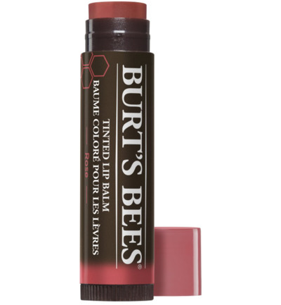 Tinted lip balm rose