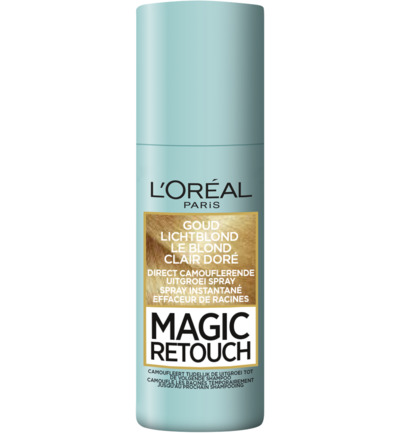 Magic retouch goud lichtblond spray