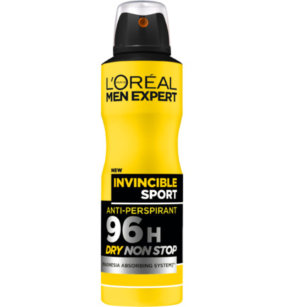 Deodorant spray invincible sport