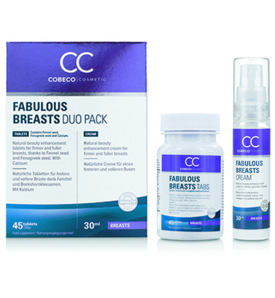 Fabulous breasts 45 tabletten & 30 ml
