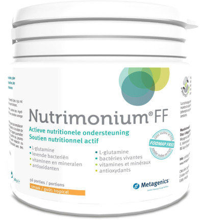 Nutrimonium fodmap free tropical 56 porties