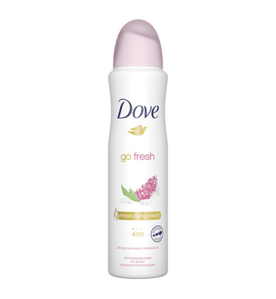 Deodorant spray go fresh pomegranate