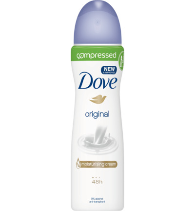 Deodorant spray compressed original