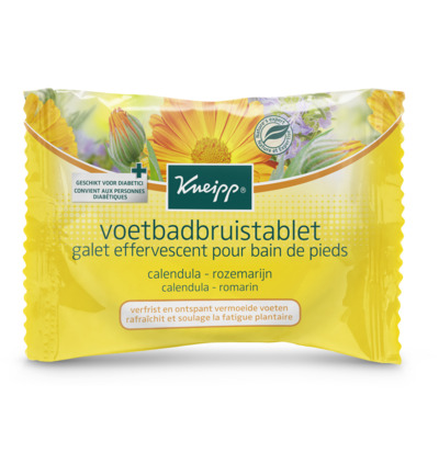 Voetbadbruistablet single use