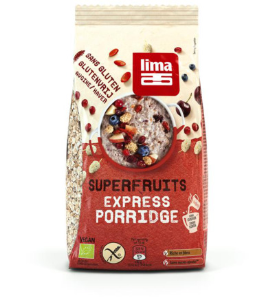 Porridge express superfruits