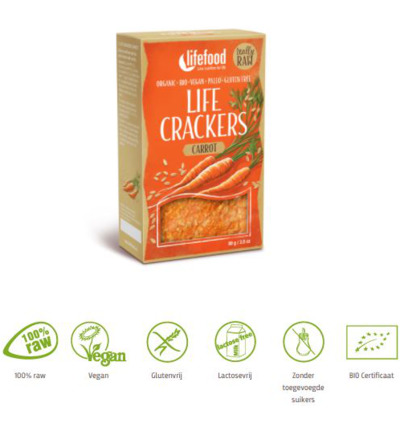 Life crackers wortel