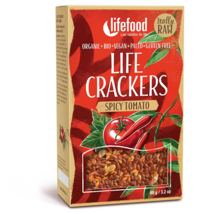 Life crackers pikante tomaat