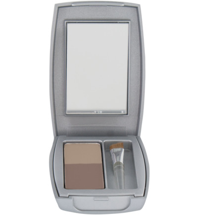 Compact powder taupe