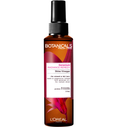 Botanicals radiance remedy shine vinegar