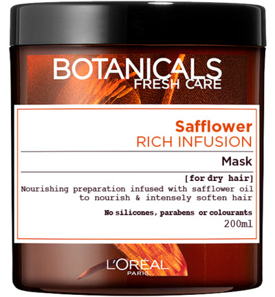 Botanicals rich infusion mask