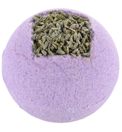 Bath ball lavender field