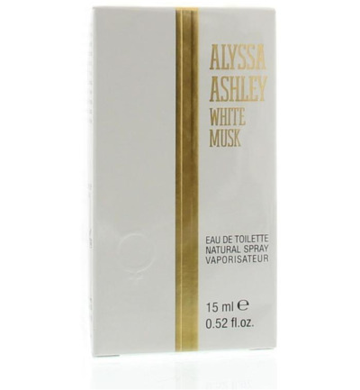 White musk eau de toilette vapo female