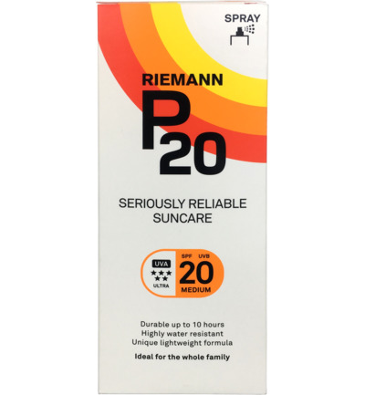 Once a day factor 20 spray