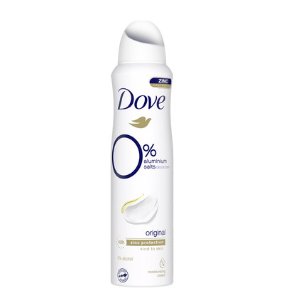 Deodorant spray original 0%