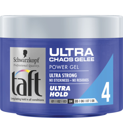 Level 4 Ultra Chaos Gelee gel ultra hold